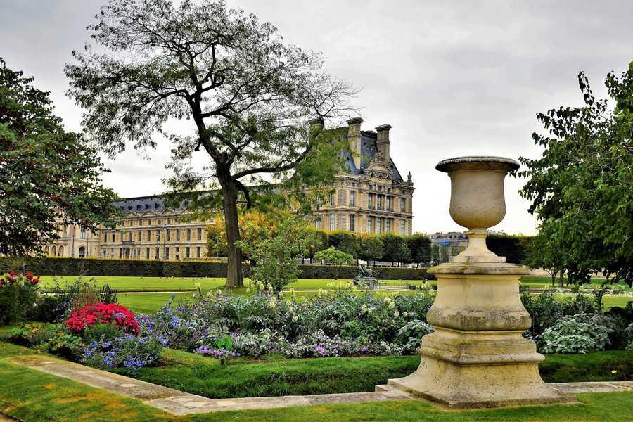 הרובע ה-1 של פריז. גני הטיולרי ומוזיאון הלובר. צילם: יואל תמנליס