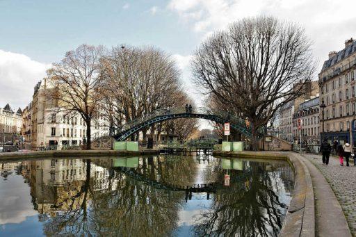 הרובע ה-10 של פריז. קנאל סן מרטן. צילם: יואל תמנליס
