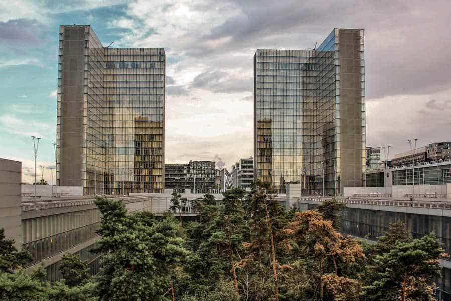 הרובע ה-13 של פריז. הספרייה הלאומית. צילם: יואל תמנליס