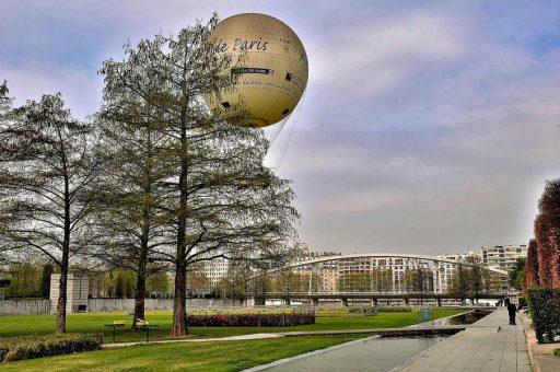 הרובע ה-15 של פריז. פארק אנדרה סיטרואן. צילם: יואל תמנליס