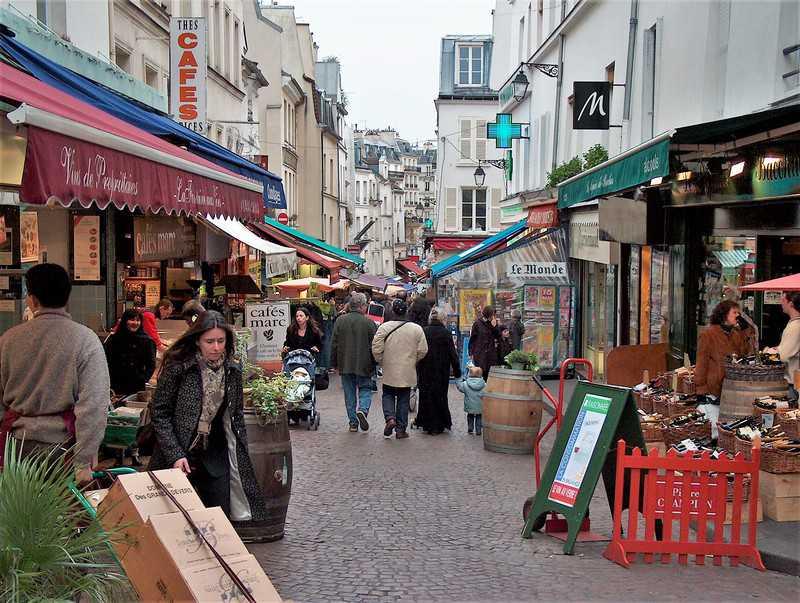 הרובע ה-5 של פריז. רחוב מופטאר. צילם: יואל תמנליס
