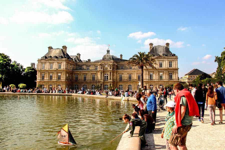 הרובע ה-6 של פריז. גני לוקסמבורג. צילם: יואל תמנליס