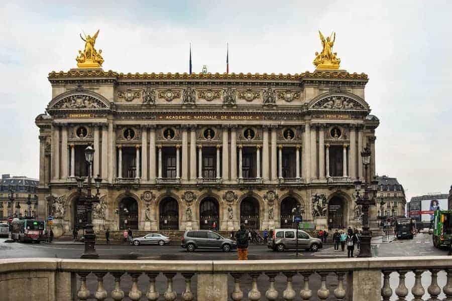 הרובע ה-9 של פריז. אופרה גארנייה. צילם: יואל תמנליס