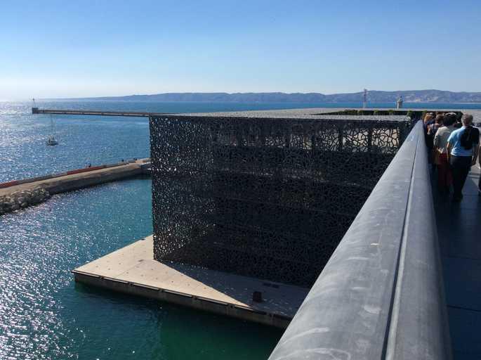 מארסיי, המוזיאון החדש של תרבויות אירופה, והים התיכון. צילם אביטל ענבר.