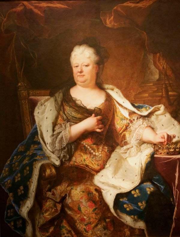 אליזבת' הנסיכה מחבל הפלטינט. אשתו השנייה של פיליפ ה-1 דוכס אוליאן. מקור תמונה ויקיפדיה.
