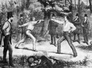 דו קרב ביער בולון. מקור תמונה: ויקיפדיה.