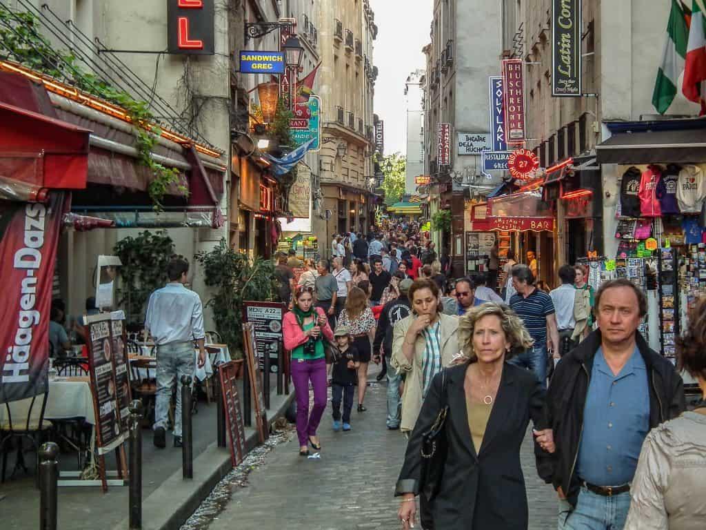 rue de la huchette. צילם: יואל תמנליס