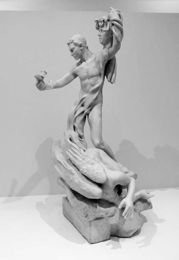 פרסאוס והגורגונה Persée et la Gorgone, 1898-1899, מוזיאון רודן, פריז. מקור צילום ויקיפדיה.