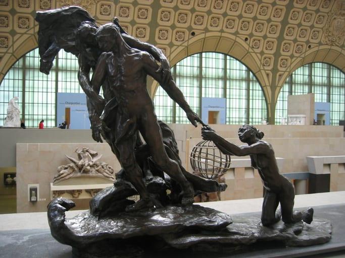 גיל מבוגר L'Âge mûr, 1899, מוזיאון רודן, פריז. מקור צילום: ויקיפדיה.