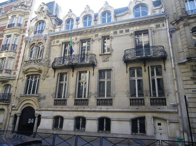 בית הספר לאיטלקית ברחוב Sedillot 12. מקור צילום ויקיפדיה.