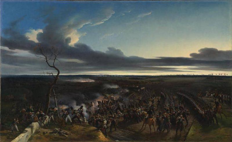 קרב מונמיראיי (1814). מקור תמונה: ויקיפדיה.