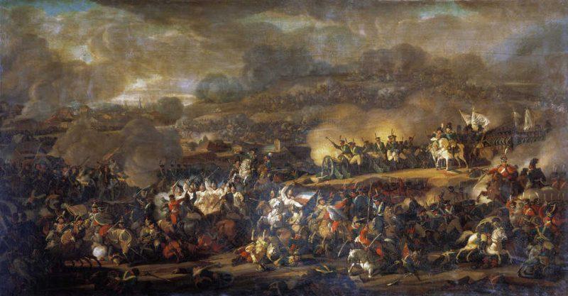 קרב לייפציג (1813). מקור תמונה: ויקיפדיה.