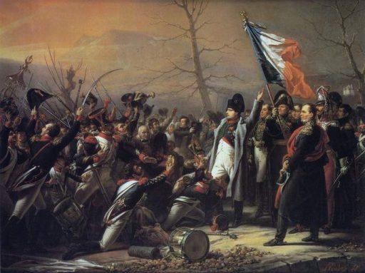 נפוליאון חוזר מאלבה. צייר שארל דה סטוייבן. מקור תמונה: ויקיפדיה.