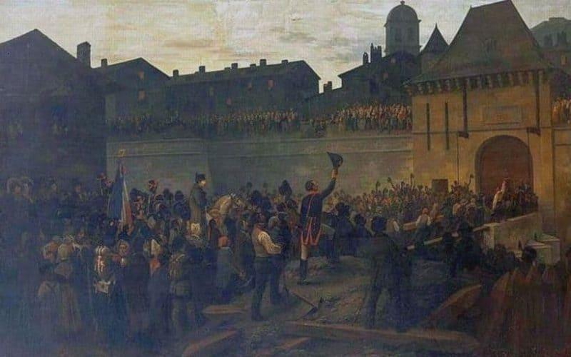 נפוליאון נכנס לגרנובל. מקור תמונה: ויקיפדיה.