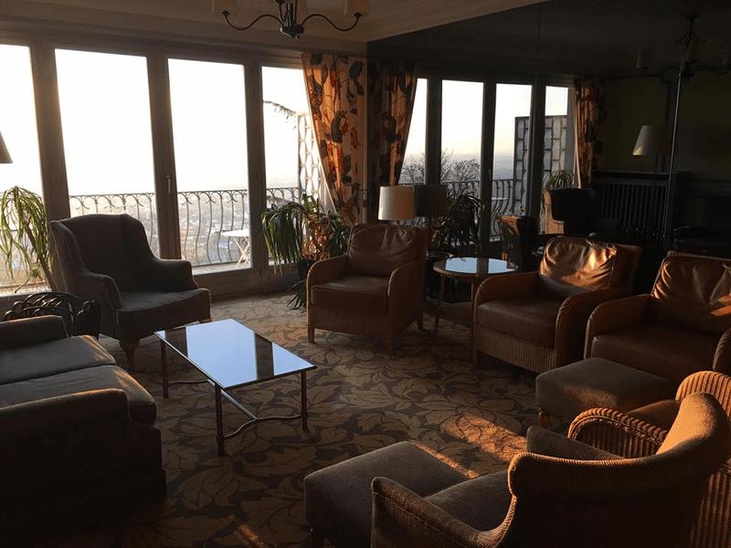 לובי מלון LE CLOS SAINT VINCENT.
