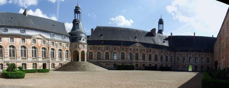 Chateau de Saint Fargeau. צילום: יוסי דרורי