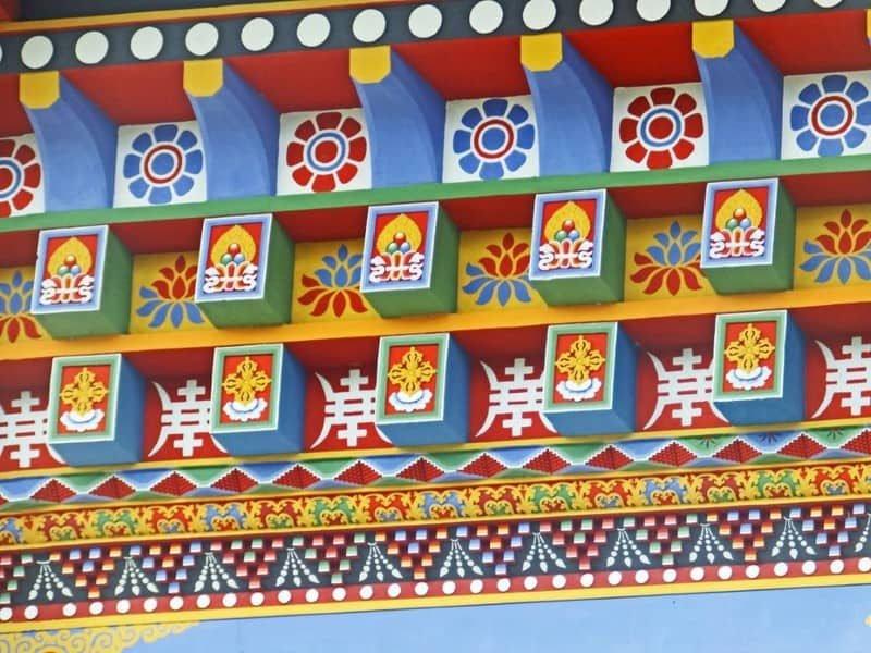 מקדש אלף הבודהות. צילום: יוסי דרורי.