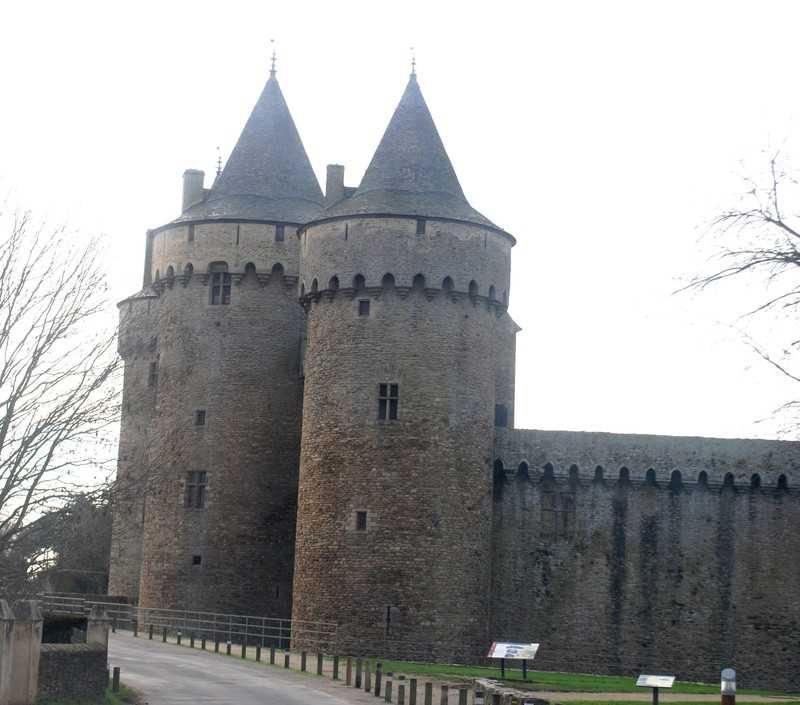 Chateau de Suscinio מכיוון אחר. צילום: דני אשכנזי.