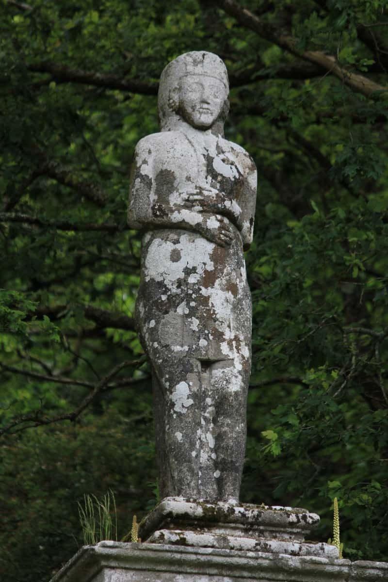 הפסל מקרוב. צילום: דני אשכנזי.