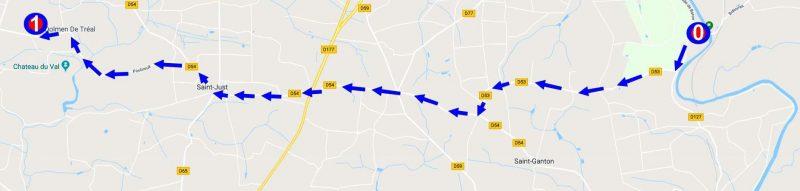 מפת ההגעה לדולמן