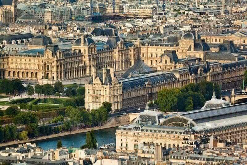 מלונות מומלצים ברובע ה-1 בפריז (הלובר)