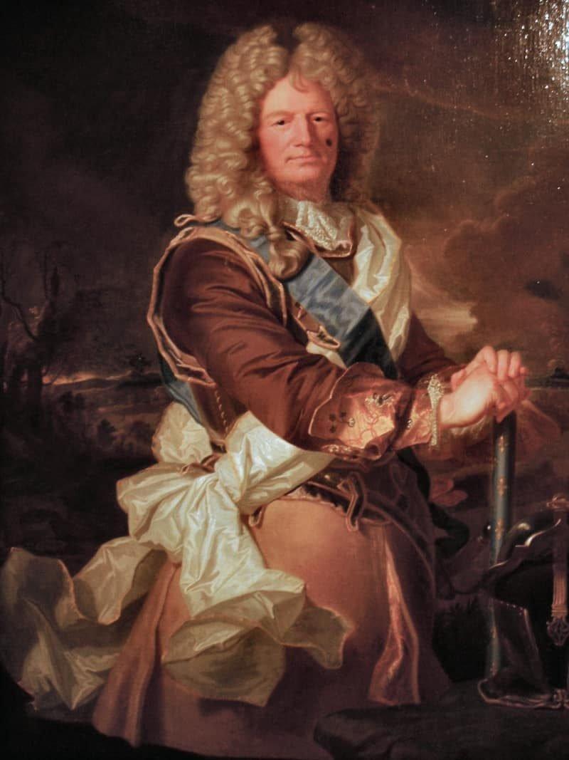המרקיז דה וובאן. תמונה של Hyacinthe Rigaud. מקור תמונה: ויקיפדיה.