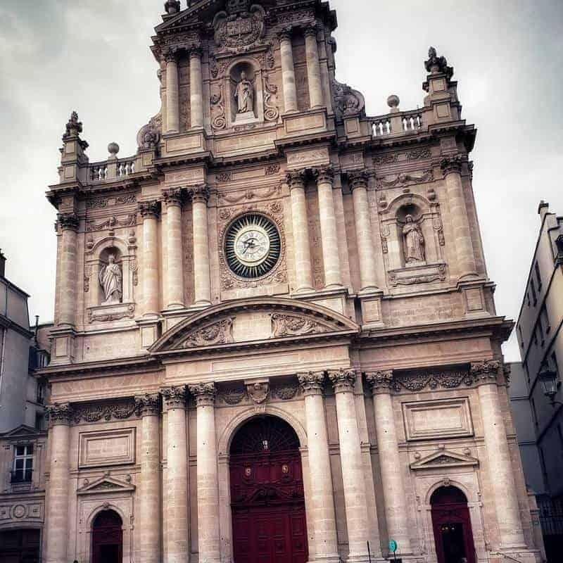 כנסיית סן לואי, סן פול. צילום: צבי חזנוב