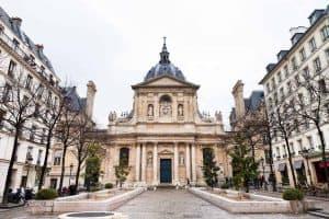 אטרקציות ברובע ה-5 בפריז. כיכר הסורבון.