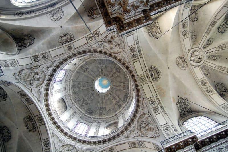הכיפה של כנסיית סן לואי-סן פול. מקור צילום: ויקיפדיה.
