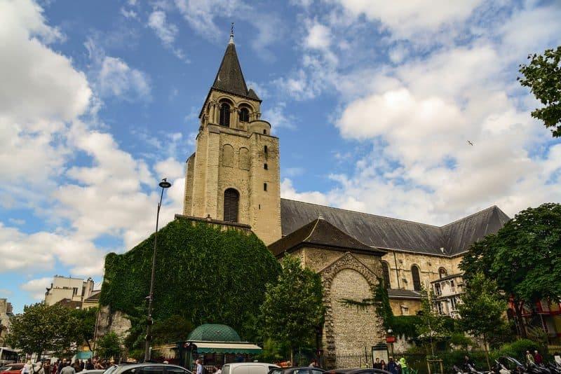 כנסיית סן ז'רמן דה פרה. צילום: יואל תמנליס