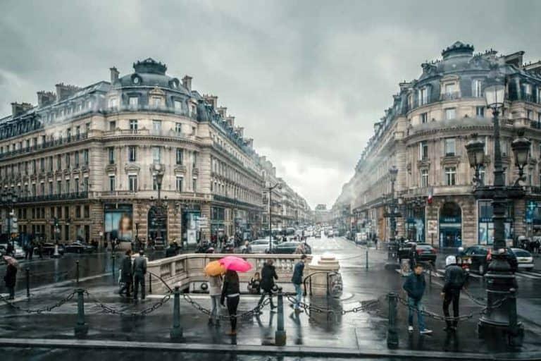 פריז בחורף - מה לעשות כשיורד גשם וקר.