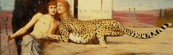 Des caresses, ou l'Art, ou le Sphinx, 1896