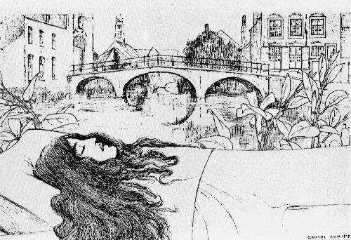 ציור השער של פרנן קנופף ל