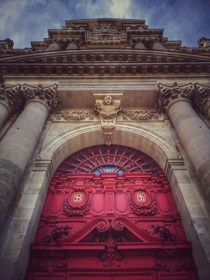 כנסיית סן לואי-סן פול שברובע המארה. צילם: צבי חזנוב