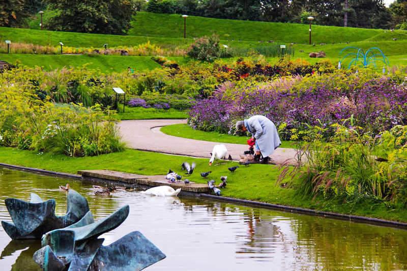 פארק הפרחים. צילם: יואל תמנליס.