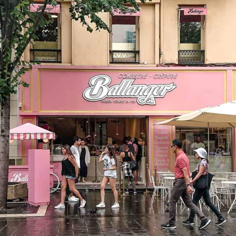 החזית הורודה של Ballanger