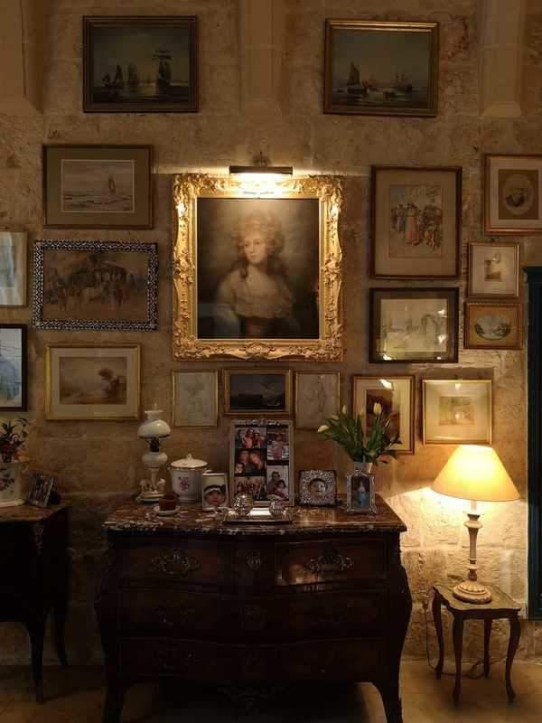 פורטרט של אליזבת' וויז'ה לברון ב Casa Bernard. צילם: צבי חזנוב