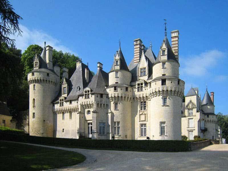 טירת אוסה (Château d'Ussé)