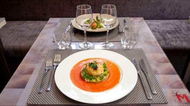 Restaurant Le M. מקור צילום: THE FORK.