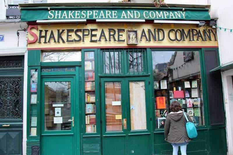חנות הספרים שקספיר אנד קומפני. צילם: יואל תמנליס