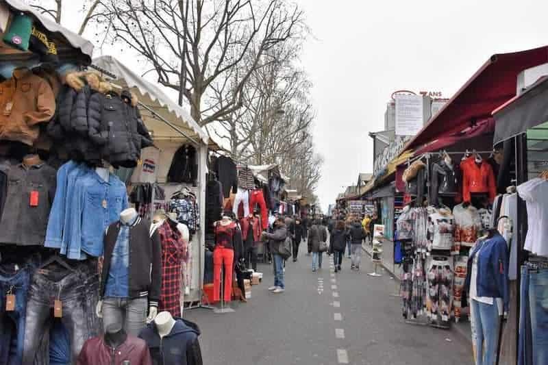 שוק הפשפשים סנט-אואן. צילם: יואל תמנליס.
