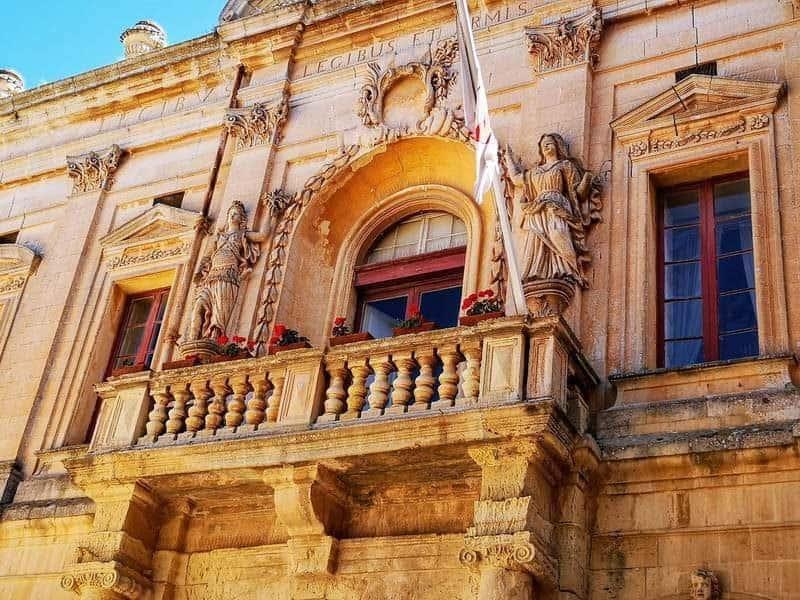 המרפסת של ה Corto Capitanale.