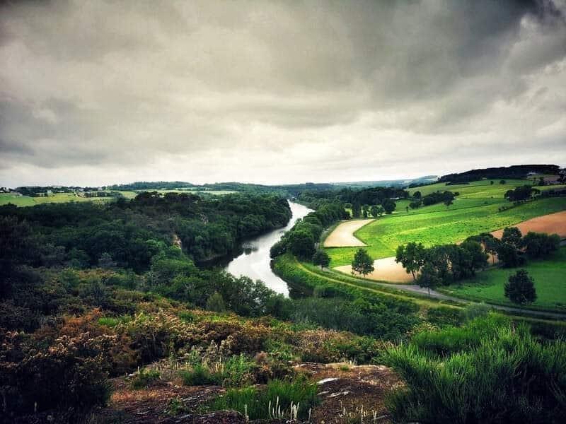 נהר הוילן. צילם צבי חזנוב.