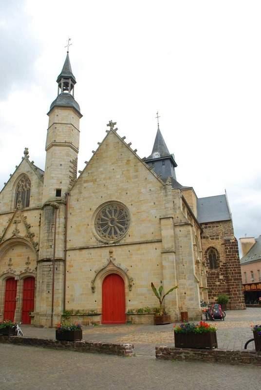 כנסיית ז'יל הקדוש.