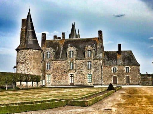 ארמון רושה (des Rochers). ארמונה של מדאם דה סבינייה. צילם: צבי חזנוב