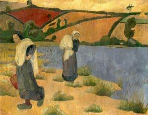 """קבוצת הנאבי – נביאי האמנות החדשה של סוף המאה ה-19 מאת ד""""ר אורנה ליברמן. מקור ציור: ויקיפדיה."""