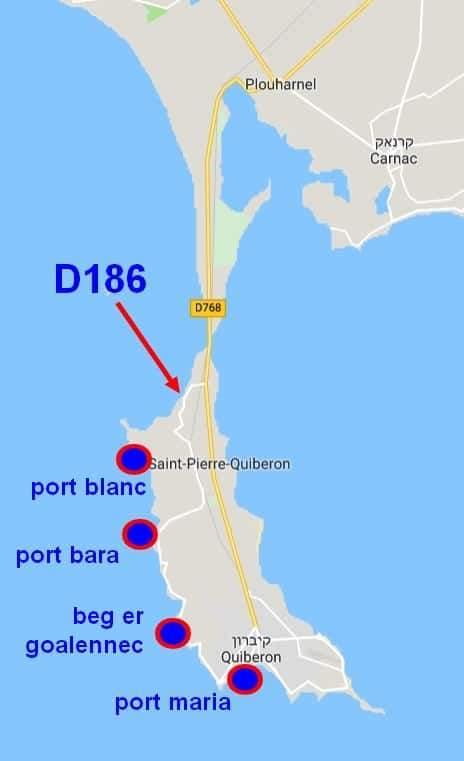 מפה מפורטת של קיברון