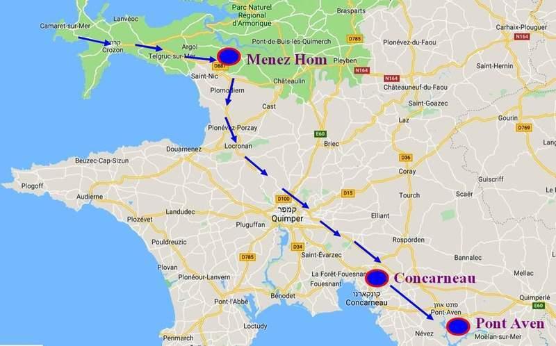 הדרך לקונקארנו