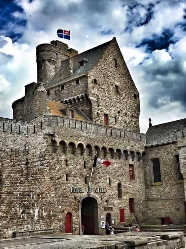 הטירה שבנתה אן מברטאן בסן מאלו. צילם: צבי חזנוב