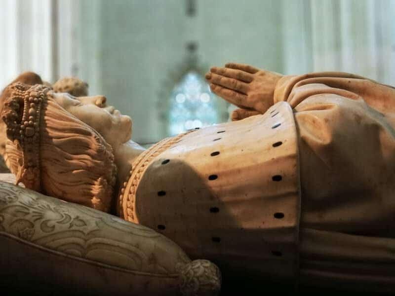 קברם של פרנסואה ה-2 דוכס ברטאן ואשתו. צילום: צבי חזנוב